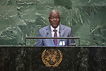 General Assembly Seventy-third session, 14th plenary meeting<br /> <br /> <br /> His Excellency Kalla ANKOURAO Minister for Foreign Affairs, Cooperation, African Integration and of Nigeriens Living Abroad of Niger