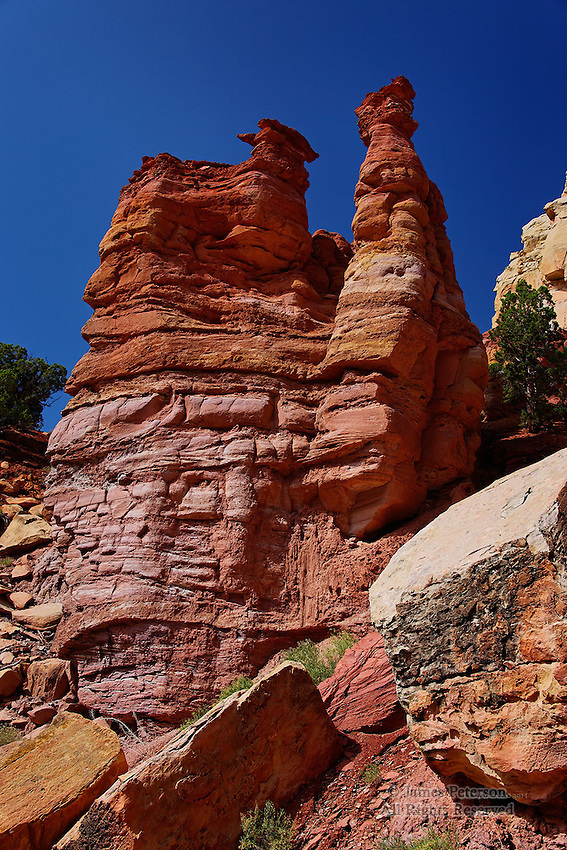 Hoodoos along Burr Trail, Utah