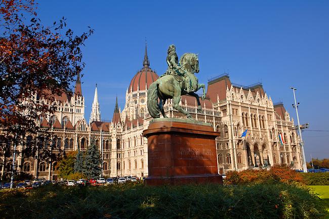 The Hungarian National Assemby. Parliament (Országház), Budapest Hungary