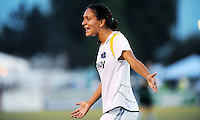 Stephanie Cox..Saint Louis Athletica were defeated 2-1 by LA Sol at Anheuser-Busch  Soccer Park, Fenton, Missouri.