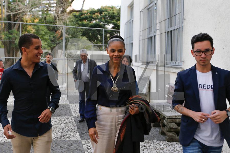 CURITIBA, PR, 17.05.2018 – MARINA SILVA-PR - A pré-candidata à Presidência da República, Marina Silva (Rede), durante visita à Casa do Estudante Universitário do Paraná (CEU) na tarde desta quinta-feira (17) em Curitiba (PR). (Foto: Paulo Lisboa/Brazil Photo Press)