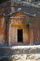 Lycian Tomb on Kastellorizo