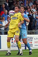 Chester City vs Dagenham & Redbridge 25-08-07