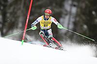 21st December 2020; Alta Badia Ski Resort, Dolomites, Italy; International Ski Federation World Cup Slalom Skiing; Stefan Hadalin (SLO)