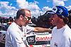 AURIOL Didier (FRA), TOYOTA Celica Turbo 4WD #2, DUNCAN Ian (EAK), TOYOTA Celica Turbo 4WD #3, SAFARI RALLY 1994