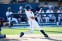 Connecticut Huskies outfielder Kyler Fedko (3) swings the bat during the NCAA tournament against the Michigan Wolverines on June 4, 2021 at Frank Eck Stadium in Notre Dame, Indiana. The Huskies defeated the Wolverines 6-1. (Andrew Woolley/Four Seam Images)