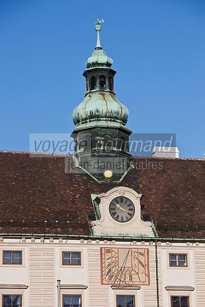 Europe/Autriche/Niederösterreich/Vienne: Palais de La Hofburg - Centre Historique, Patrimoine mondial UNESCO