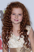 HOLLYWOOD, CA - DECEMBER 01: Francesca Capaldi arriving at the 82nd Annual Hollywood Christmas Parade held at Hollywood Boulevard on December 1, 2013 in Hollywood, California. (Photo by Xavier Collin/Celebrity Monitor)