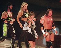 XPAC Sable Stephanie McMahon  Triple H 1998                                                                 Photo By John Barrett/PHOTO link