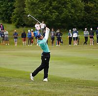 3rd July 2021; Mount Juliet Golf Club, Kilkenny, Ireland; Dubai Duty Free Irish Open Golf, Day Three; Matthew Jordan of England takes his second shot on the 5th fairway