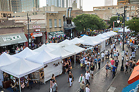 The Old Pecan Street Festival, one of Central Texas' oldest and most popular events, is a free two-day arts festival held each spring and fall in downtown Austin's charming Sixth Street Historic District, a National Register of Historic Places site.