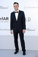 Cheyenne Jackson attends the 2012 amfAR Cinema Against AIDS Gala at Hotel du Cap-Eden-Roc in Antibes, France on 24.5.2012. Credit: Timm/face to face / Mediapunchinc / Mediapunchinc
