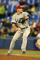 March 8, 2009:  Pitcher Matt Lindstrom (29) of Team USA during the first round of the World Baseball Classic at the Rogers Centre in Toronto, Ontario, Canada.  Team USA defeated Venezuela  15-6 to secure a spot in the second round of the tournament.  Photo by:  Mike Janes/Four Seam Images