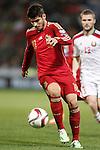 Spain's Alvaro Morata during 15th UEFA European Championship Qualifying Round match. November 15,2014.(ALTERPHOTOS/Acero)