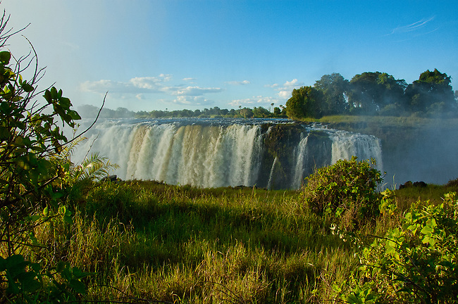 Victoria Falls after rainy season