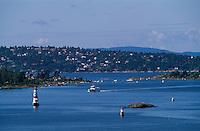 Norwegen, Oslo, Inseln im Oslofjord