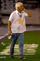 BARRANQUIILLA -COLOMBIA-30-04-2017: Julio Comesaña  técnico del Atlético Junior gesticula durante partido contra Independiente Medellín por la fecha 15 de la Liga Águila I 2017 jugado en el estadio Metropolitano Roberto Meléndez de la ciudad de Barranquilla. / Julio Comesaña  coach of Atletico Junior gestures during match against Independiente Medellin for the date 15 of the Aguila League I 2017 played at Metropolitano Roberto Melendez stadium in Barranquilla city.  Photo: VizzorImage/ Alfonso Cervantes /Cont
