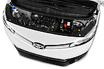 Car Stock 2016 Toyota Proace Comfort 4 Door Cargo Van Engine  high angle detail view