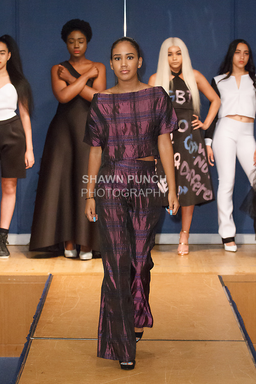 Image from the Teachers Rock The Runway fashion show presented by the United Federation of Teachers, at 52 Broadway in New York City, on May 31st 2018.