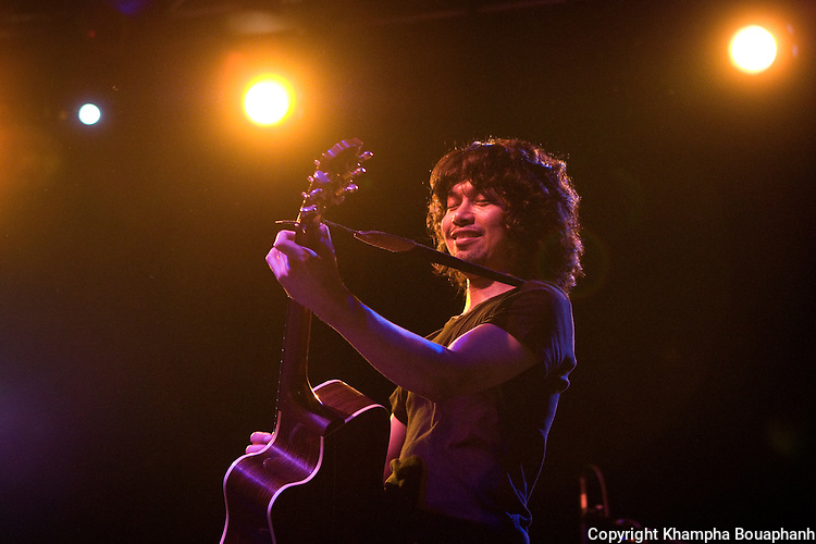 Thai rocker Sek Loso performs at the Granada Theater in Dallas, Texas on Saturday, August 13, 2011. (Photo by Khampha Bouaphanh)