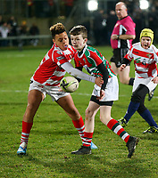 Friday 27th December 2019 | Ulster Rugby vs Connacht Rugby<br /> <br /> Halftime mini rugby during the PRO14 Round 9 inter-pro clash against Connacht at Kingspan Stadium., on Friday 27th December 2019. Photo by John Dickson / DICKSONDIGITAL