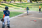 The As won their first playoff game against the Astros with a 14-0 record at the Benicia Community Park.