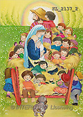 Interlitho, Soledad, CHRISTMAS CHILDREN, naive, paintings, kids(KL2137/2,#XK#) Weihnachten, Navidad, illustrations, pinturas