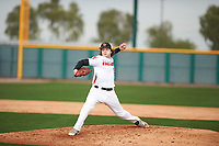 Tyler Rigot (15) of Charlotte Country Day High School in Weddington, North Carolina during the Under Armour All-American Pre-Season Tournament presented by Baseball Factory on January 14, 2017 at Sloan Park in Mesa, Arizona.  (Zac Lucy/MJP/Four Seam Images)