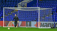 Alexandros Paschalakis of PAOK during training and press conference at Stamford Bridge, London