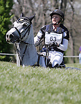 April 26, 2014: RF Smoke On The Water and Marilyn Little compete in Cross Country at the Rolex Three Day Event in Lexington, KY at the Kentucky Horse Park.  Candice Chavez/ESW/CSM
