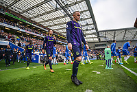 Wayne Rooney of Everton (10) during the Premier League match between Brighton and Hove Albion and Everton at the American Express Community Stadium, Brighton and Hove, England on 15 October 2017. Photo by Edward Thomas / PRiME Media Images.