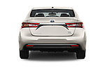 Straight rear view of 2018 Toyota Avalon XLE Premium 4 Door Sedan Rear View  stock images