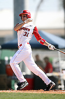 February 21, 2009:  Outfielder Paul Karmas (31) of St. John's University during the Big East-Big Ten Challenge at Jack Russell Stadium in Clearwater, FL.  Photo by:  Mike Janes/Four Seam Images