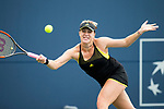 August 04, 2017: Anastasia Pavlyuchenkova (RUS) was defeated by CoCo Vandeweghe (USA) 6-2, 6-3 at the Bank of the West Classic being played at the Taube Tennis Stadium in Stanford, California. ©Mal Taam/TennisClix/CSM