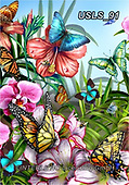 Lori, REALISTIC ANIMALS, REALISTISCHE TIERE, ANIMALES REALISTICOS, zeich, paintings+++++2-ButterflyGarden,USLS91,#a#, EVERYDAY ,puzzle,puzzles