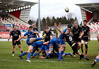 15 January 2021; Cormac Foley during the A Interprovincial match between Ulster and Leinster at Kingspan Stadium in Belfast. Photo by John Dickson/Dicksondigital