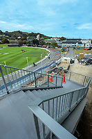 NZ Cricket Museum renovation at Basin Reserve in Wellington, New Zealand on Thursday, 9 January 2020. Photo: Dave Lintott / lintottphoto.co.nz