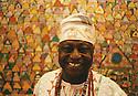 Chief Olaruntoba at his October Gallery opening