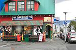 Corner Store, Reykjavik, Iceland