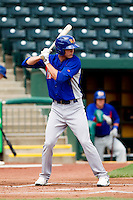 Grant Green (9) of the Midland RockHounds at bat during a game against the Springfield Cardinals on April 19, 2011 at Hammons Field in Springfield, Missouri.  Photo By David Welker/Four Seam Images