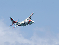 FORT LAUDERDALE, FLORIDA - MAY 05:  USCG Sar Demo performs at The Fort Lauderdale Air Show on May 5, 2018 in Fort Lauderdale, Florida. <br /> <br /> <br /> People:  USCG Sar Demo