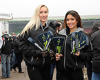 20130309 Copyright onEdition 2013©.Free for editorial use image, please credit: onEdition..LV= promo staff give out clappers to fans before the LV= Cup semi final match between Harlequins and Bath Rugby at The Twickenham Stoop on Saturday 9th March 2013 (Photo by Rob Munro)..For press contacts contact: Sam Feasey at brandRapport on M: +44 (0)7717 757114 E: SFeasey@brand-rapport.com..If you require a higher resolution image or you have any other onEdition photographic enquiries, please contact onEdition on 0845 900 2 900 or email info@onEdition.com.This image is copyright onEdition 2013©..This image has been supplied by onEdition and must be credited onEdition. The author is asserting his full Moral rights in relation to the publication of this image. Rights for onward transmission of any image or file is not granted or implied. Changing or deleting Copyright information is illegal as specified in the Copyright, Design and Patents Act 1988. If you are in any way unsure of your right to publish this image please contact onEdition on 0845 900 2 900 or email info@onEdition.com