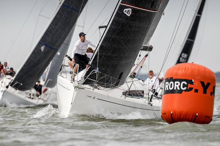 Nigel Goodhew's Cora is back for a crack at IRC Four, but this time his son Tim Goodhew is racing Two-Handed with Kelvin Matthews © Paul Wyeth/pwpictures.com