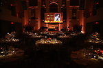Stage & atmosphere at the 2017 Manhattan Theatre Club Fall Benefit honoring Hal Prince on October 23, 2017 at 583 Park Avenue in New York City.