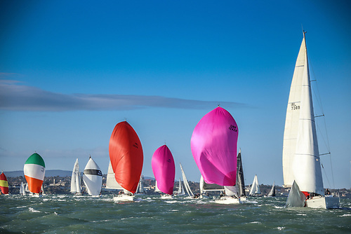Spinnakers, Bloopers, Gennakers, Code Zero or similar sails are not allowed in DBSC's new Class Four for the 2021 season