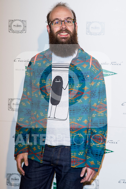 Tristan Ramirez  attend Emidio Tucci parade of the new autumn / winter collection in Madrid, Spain. March 30, 2017. (ALTERPHOTOS / Rodrigo Jimenez)