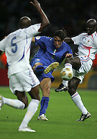 Luca Toni.  Italy defeated France on penalty kicks after leaving the score tied, 1-1, in regulation time in the FIFA World Cup final match at Olympic Stadium in Berlin, Germany, July 9, 2006.