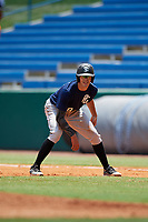 Jacob Cozart (18) of Wesleyan Christian Academy in High Point, NC during the Perfect Game National Showcase at Hoover Metropolitan Stadium on June 19, 2020 in Hoover, Alabama. (Mike Janes/Four Seam Images)