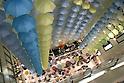 Umbrella exhibition at Matsuya department store