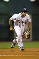 Third baseman Anthony Rendon #23 of the Rice Owls on defense versus the UCLA Bruins  in the 2009 Houston College Classic at Minute Maid Park February 27, 2009 in Houston, TX.  The Owls defeated the Bruins 5-4 in 10 innings. (Photo by Brian Westerholt / Four Seam Images)